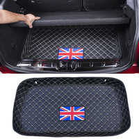 Car waterproof Trunk mat luggage compartment trim Rear storage box protection decoration For BMW MINI COOPER F54 F55 F56 F60 R60