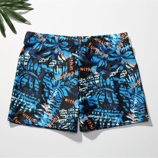 dc9c2bcfefaf9 Funfeliz Men Swimming Trunks Print boxer Men Board Shorts Plus Size Swimwear  for Men Teenage Boys Swimsuit L-3XL Male Beachwear