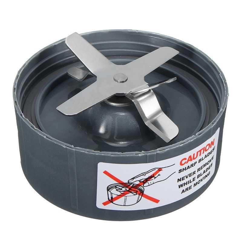 Hot sale 3Pcs 24 Para Oz Plástico Para Atravessar a Lâmina de Aço Inoxidável Copo de Mistura de Tampa Flip Para Partes Juicer Nutribullet