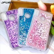 Liquid Glitter Case For Xiaomi Redmi Note 7 Silicone Quicksand Phone Cases On sFor Pro Back Cover