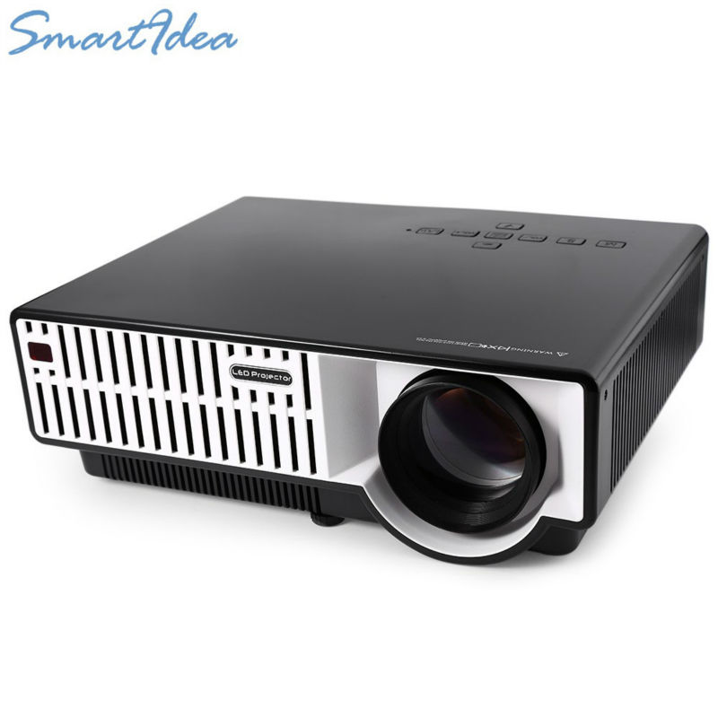 5500 Lumens Smart Lcd Tv Led Projector Full Hd Support: SmartIdea HD Multimedia Projector Digital LCD LED Video