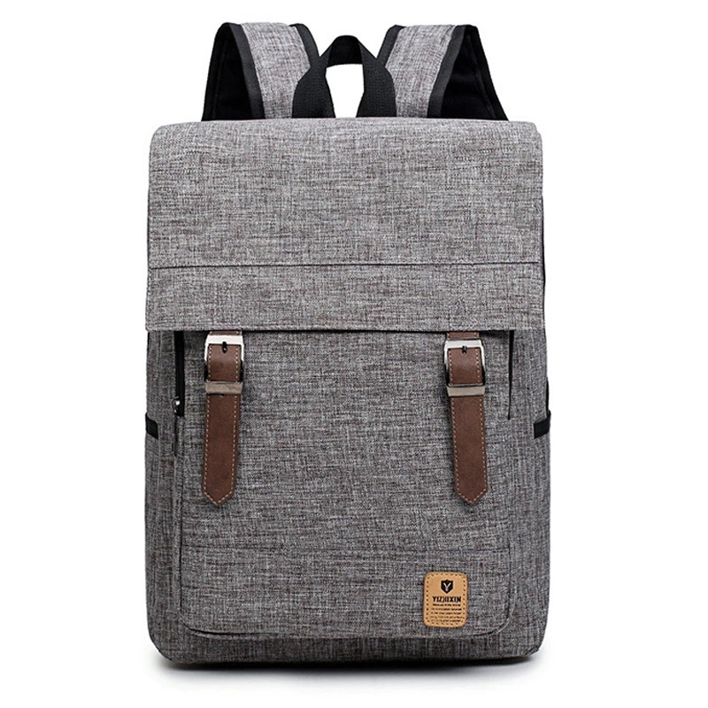 2018 Men Male Oxford Backpack College Student School Backpack Bags for Teenagers Vintage Mochila Casual Rucksack Laptop Bag цены онлайн