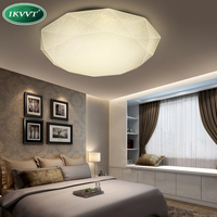 Ceiling Lights LED 24W Lamp Body ABS Material Casting Molding Seal Dustproof Hard PVC Plate Indoor