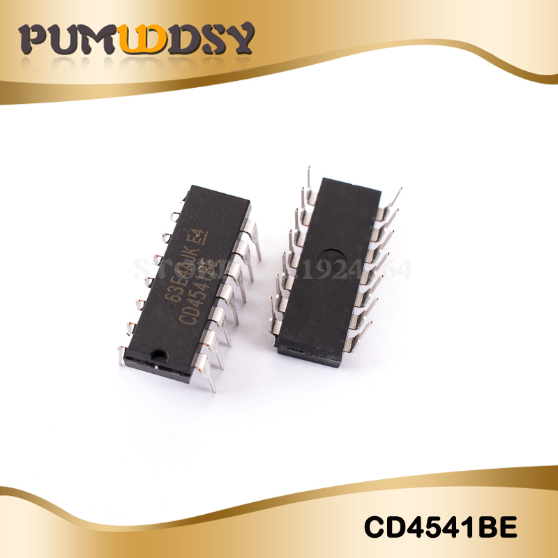 10pcs/lot Free shipping CD4541 <font><b>CD4541BE</b></font> programmable oscillation / timer DIP-14 new original image