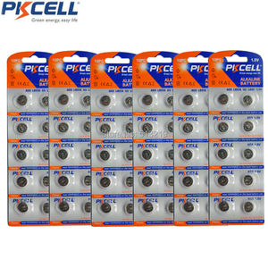 60Pcs(10Pc/Card) G9 Batteries