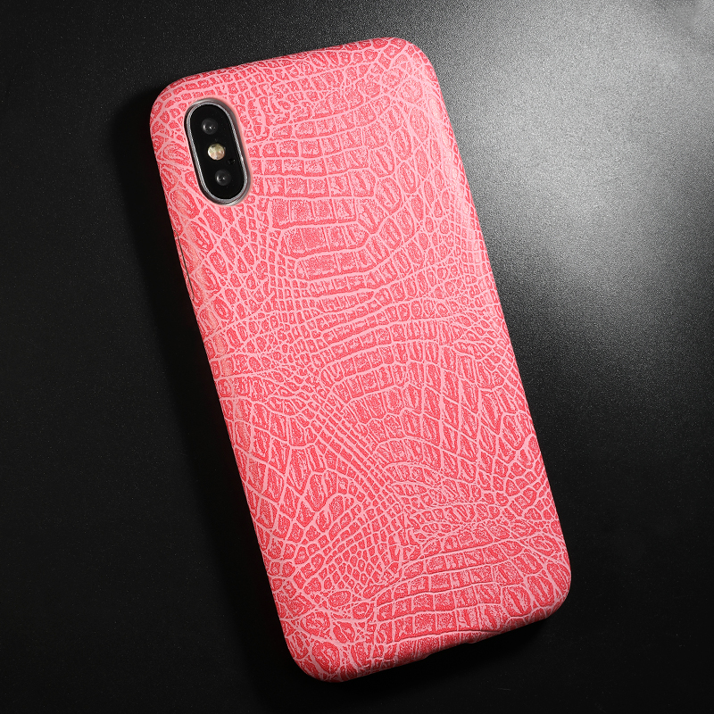 PU Leather Pattern Phone Case for iphone 6 6s 7 8 plus Case Back Cover For iphone X xs max XR Case (9)