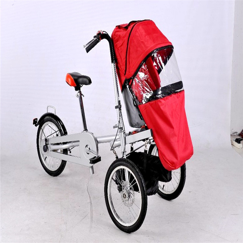 Rain Cover for Stroller Foldable Bicycle Baby Trolley Can Sit Reclining Bike Strollers Mother And Child Car Stroller