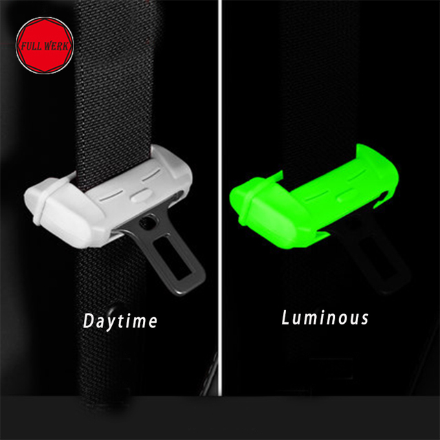Silica Gel Car Seat Belt Buckle Cover Protector Special For Tesla