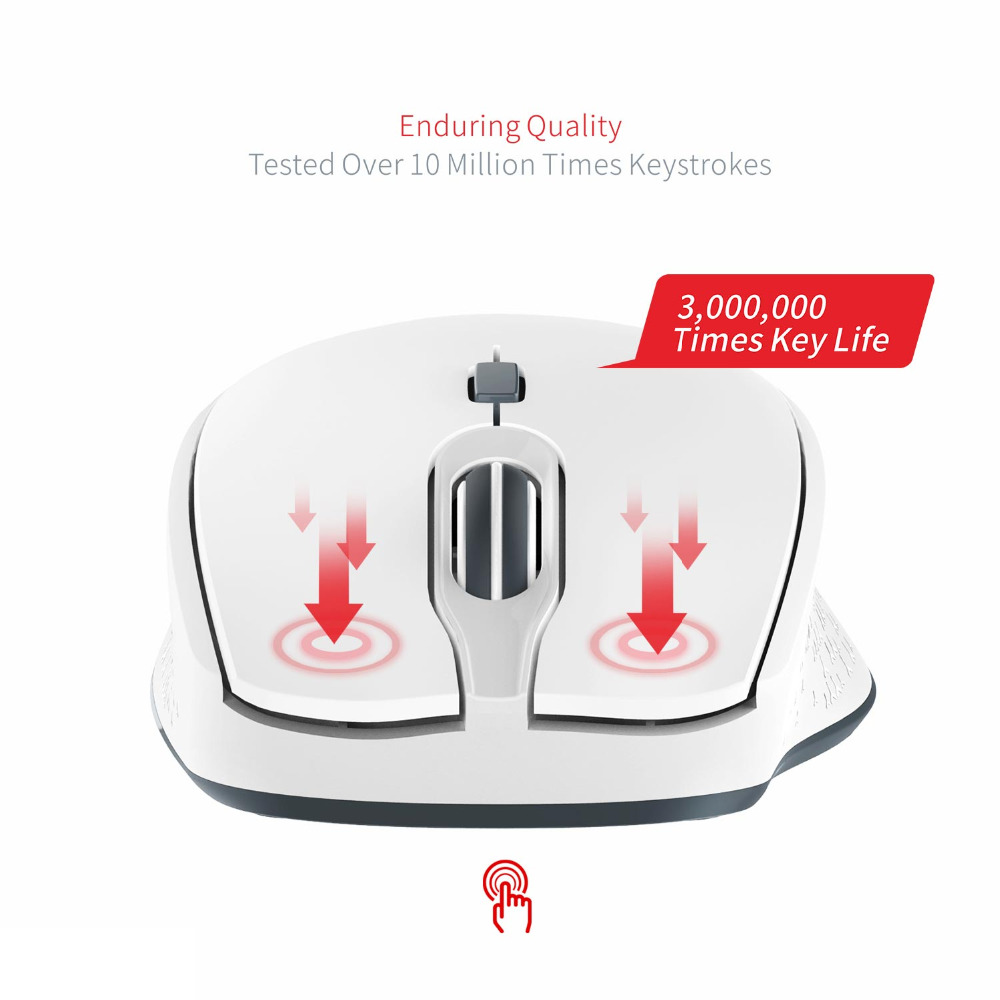 bc12fc137abb US $11.19 30% OFF|HAVIT Optical Wireless Mouse 2.4G USB Mini Mouse Portable  Computer Mouse 2000DPI Gamer Mouse for PC Macbook Laptop HV MS56GT-in Mice  ...