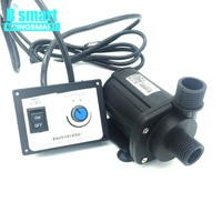 JT 1000B3 High Flow Rate 3000L/H 7M High Lift 12V DC Brushless Booster Pump Water Pump 24V Submersible Pump + Speed Controller