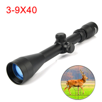 3 9X40 Hunting Air Rifle Scope Wire Rangefinder Reticle Crossbow or Mil Dot Reticle Riflescope Tactical Optical