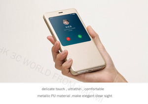 Image 3 - 100% Original xiaomi REDMI NOTE 4 étui à rabat chinois MTK Helio x 20/Version mondiale Snapdragon Cover (5.5 pouces)