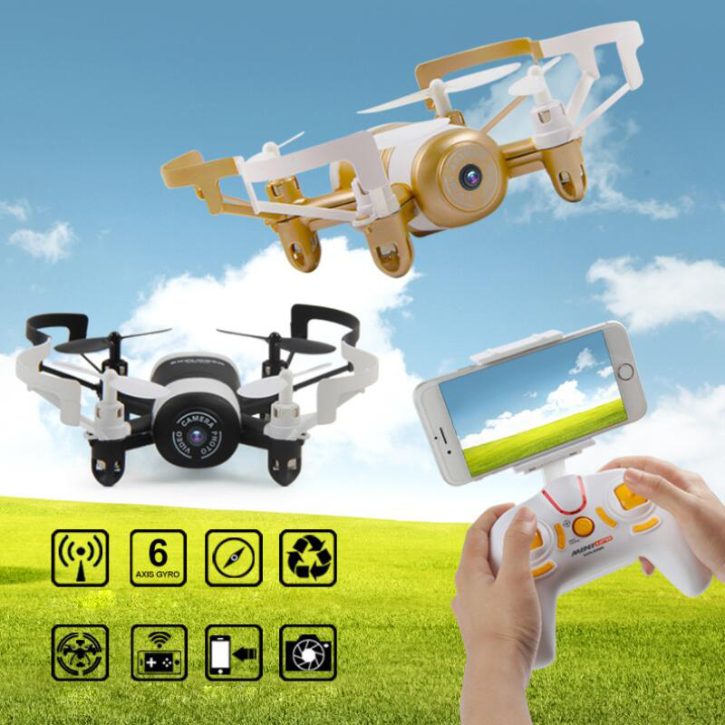 ФОТО Mini Drone JXD 512DW 2.4G 6-axis 4CH HD Camera WiFi FPV Gyro RC Quadcopter Altitude Hold Headless Drone toy RC