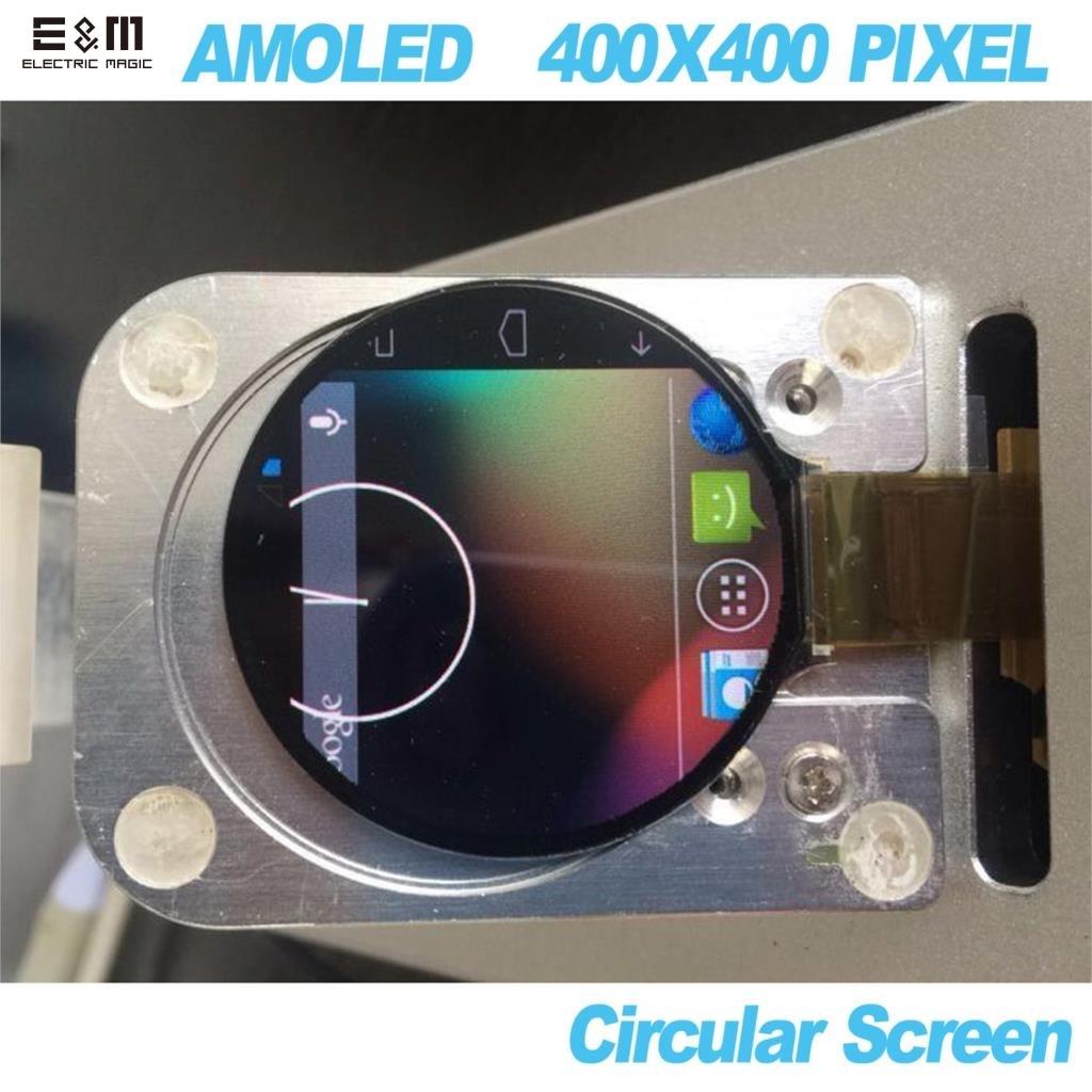 1.4 Inch AMOLED Module 400x400 Pixel Circular Screen Panle For Smart Watch MIPI Lane OLED