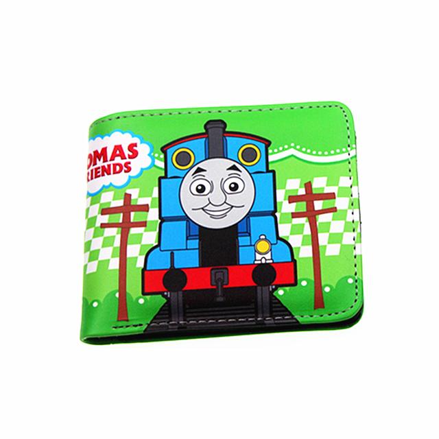 cute kids purse cartoon zipper wallets for boys and girls Tomas and friends/Splatoon/Kirby toy wallets portfel