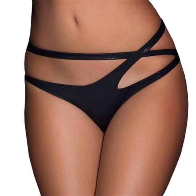 New Sexy Black Briefs Panties 1