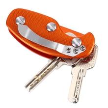 Key Organizer Folding Keys Clamp EDC Holder