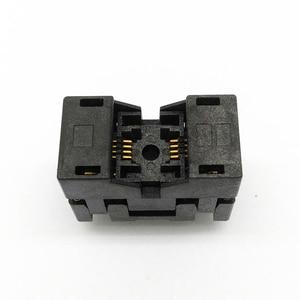 Image 1 - MSOP8 SSOP8 MSOP 8 SSOP 8 IC Test Socket Pitch 0.65mm IC Body Breedte 3mm open top burn in socket programmeren socket