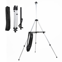 Adjustable Aluminum Sketch Display Easel Stand Painting easel For Artist Art Tools Folding Easels