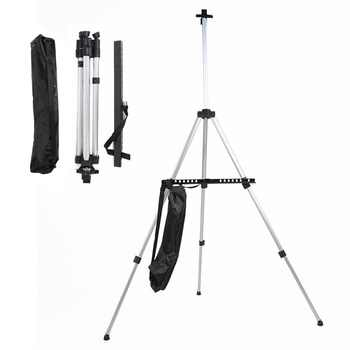 JSES Adjustable Aluminum Sketch Display Easel Stand Painting easel For Artist Art Tools Folding Easels - DISCOUNT ITEM  18 OFF Education & Office Supplies