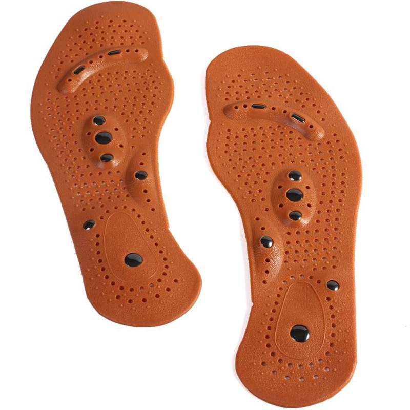 Magnetic insole care footbed magnetotherapy Foot Massage Magnet Therapy foot pain acupuncture points foot Health #FM1188 1