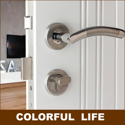 Perfect Modern Minimalist High Grade Bend Door Clock Sets,Genuine SUS304 Stainless  Steel, Home,door Handles,bedroom Door, Mute Locks In Door Handles From Home  ...