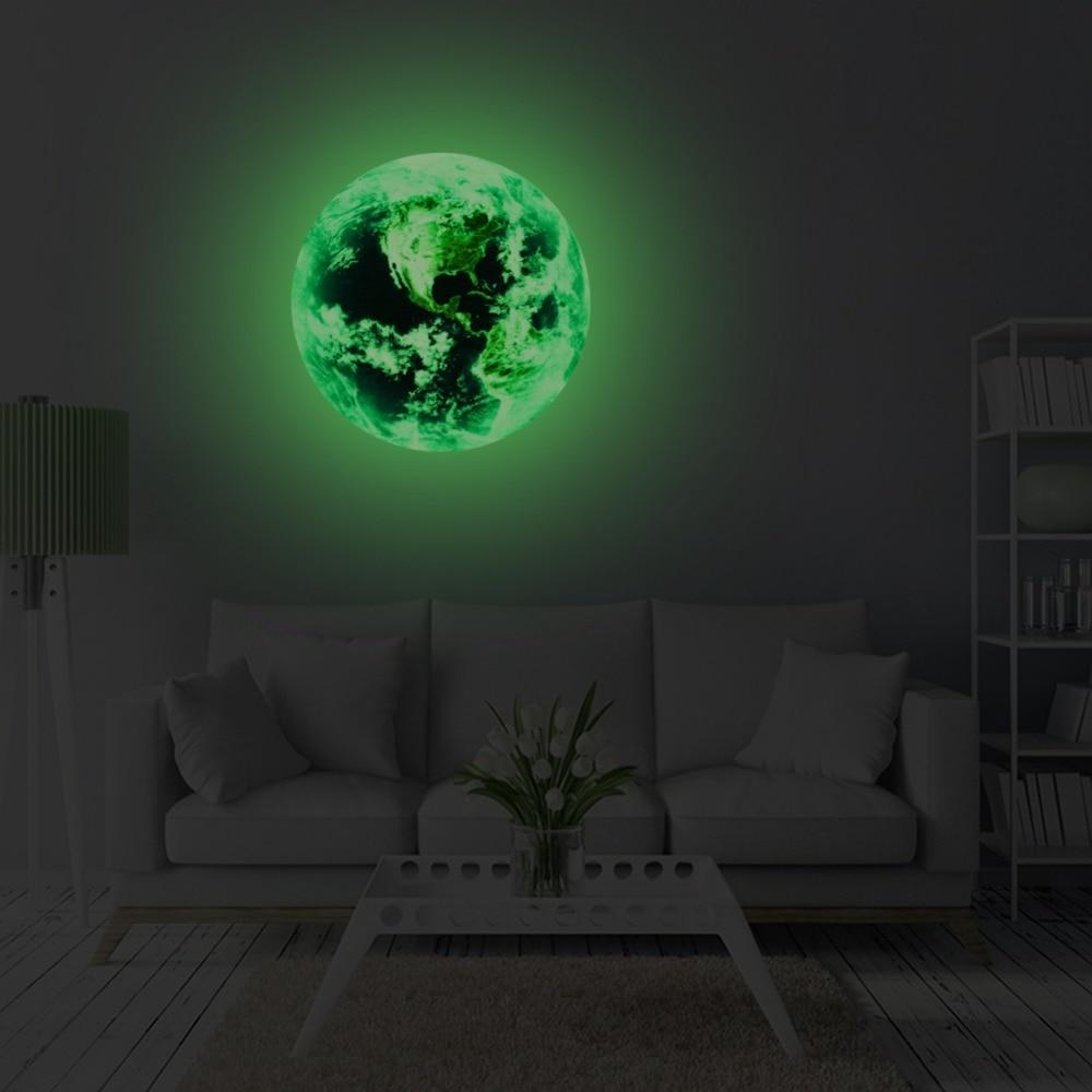 χονδρικής Νέο Φωτεινό φεγγάρι γη Cartoon - Διακόσμηση σπιτιού - Φωτογραφία 6