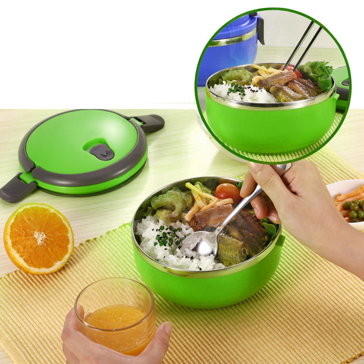Korean Dinnerware Stainless Steel Color Promotion-Shop for ...