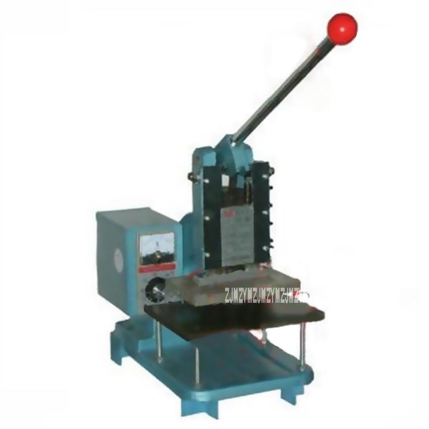 ZK-160 Manual Bronzing Machine for PVC Card Leather Paper/ Business Card/ Indentation/ Leather Stamping Machine 110V/ 220V 500W автомобиль пожарный полесье volvo в сеточке 8787