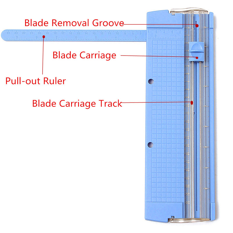 Fashion Popular Folded A4 A5 Precision Paper Photo Trimmers Cutter Scrapbook Trimmer Lightweight Cutting Mat Machine