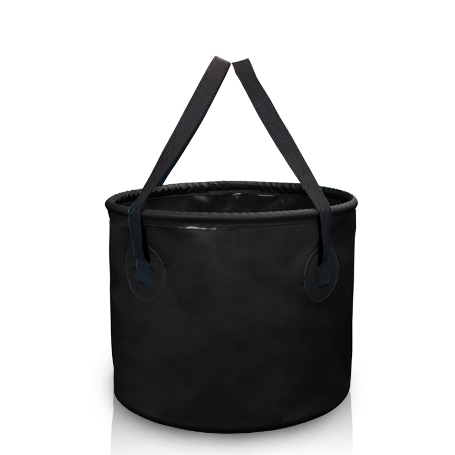 NEWBOLER PVC Folding Fishing Bucket 10L/20L <font><b>Carp</b></font> Fishing Foldable Bag Outdoor Fishing Water Tank With Belt Tackle Accessories