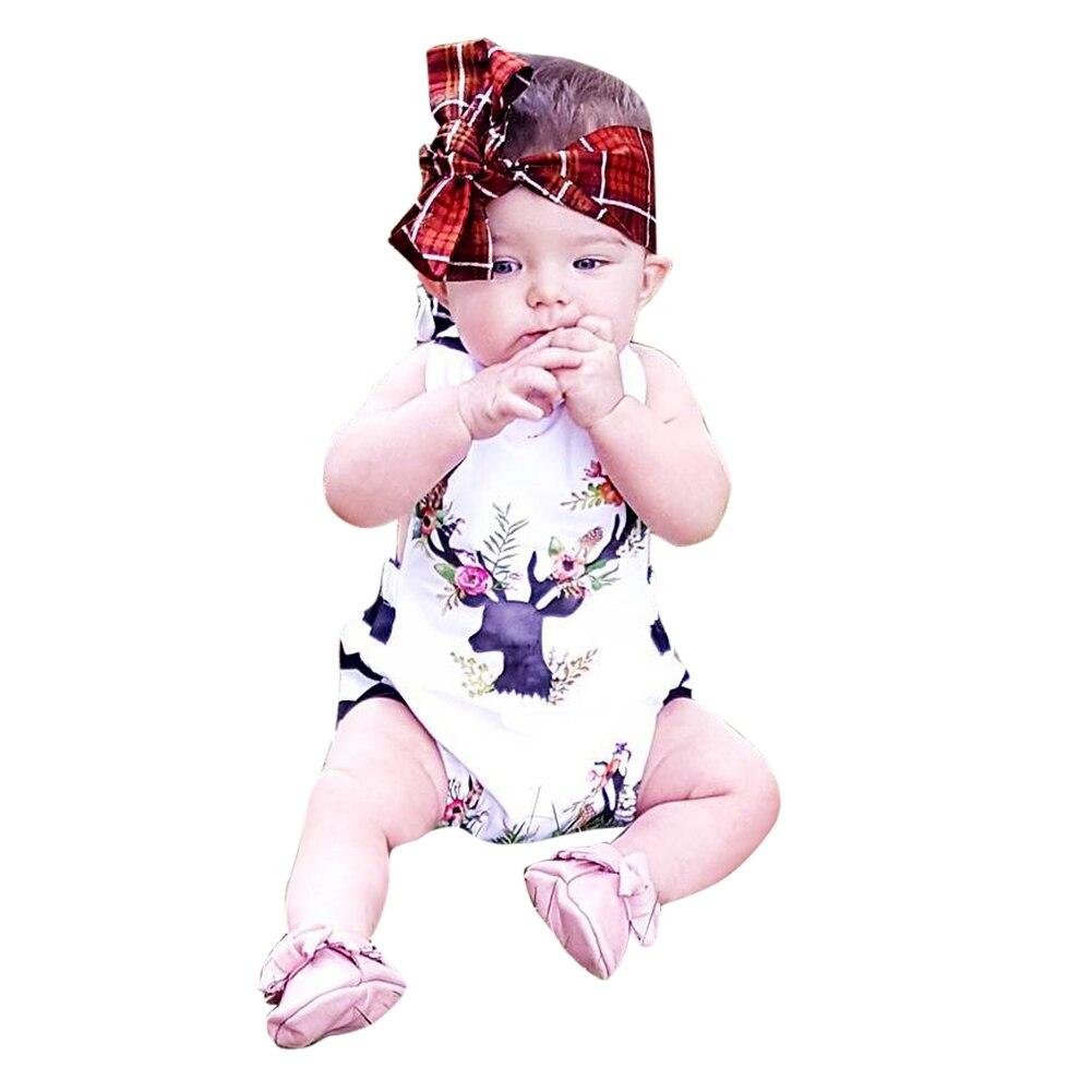 בייבי תינוקת פעוטות בנות צבאים הדפס - ביגוד לתינוקות