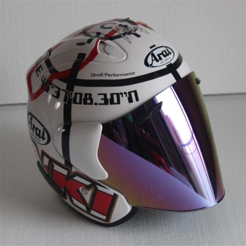 Top hot ARAI 3/4 helmet motorcycle helmet half helmet open face helmet casque motocross SIZE: S M L XL XXL,Capacete цены онлайн