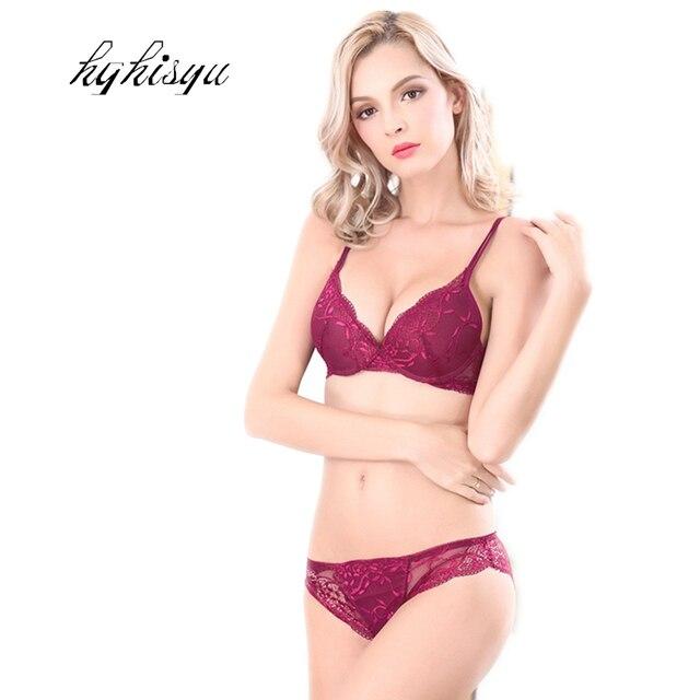 Mode CHAUDE Sexy charme dentelle soutien-gorge de recueillir ensemble Forme  Porter femme soutien- bd6b6b0e82d