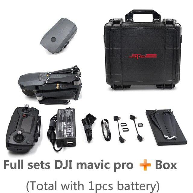 DJI Mavic Pro Drone 3 battery box Mavic Pro Fly combo Drone...