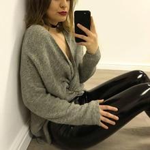 High Waist Leather Pants