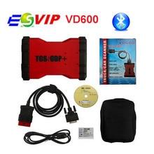 2017 Лидер продаж Новые VD600 TCS CDP PRO V2014.R2/R3 600 TCS CDP PRO + 3 в 1 с Bluetooth Бесплатная доставка