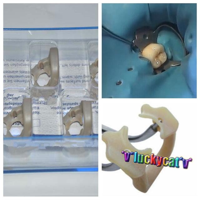 Kerr dentales Dique De Goma Suave Pinza Universal Misceláneas Molar Dientes Polímero