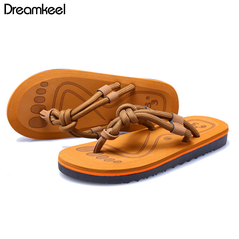 Summer Flip Flops 2019 Plus Size Women Slippers Leisure Female Ladies Beach Outdoor Summer Slippers Fashion Men Shoes  Y(China)