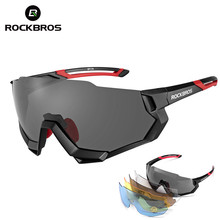 ROCKBROS New Polarized UV400 Glasses Bike Cycling Outdoor Sports Sungl