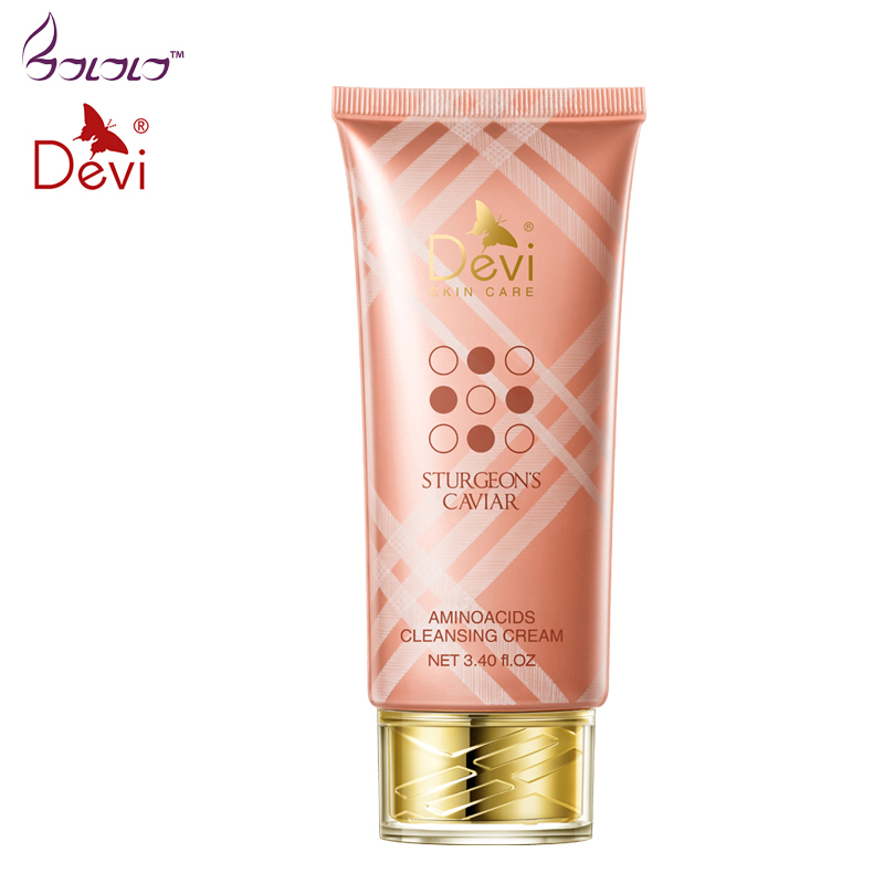Face Cleaning Essence Amino Acid Cleansing Facial Cleanser Anti Aging Hyaluronic Acid Vitamin face exfoliator acne wrinkle