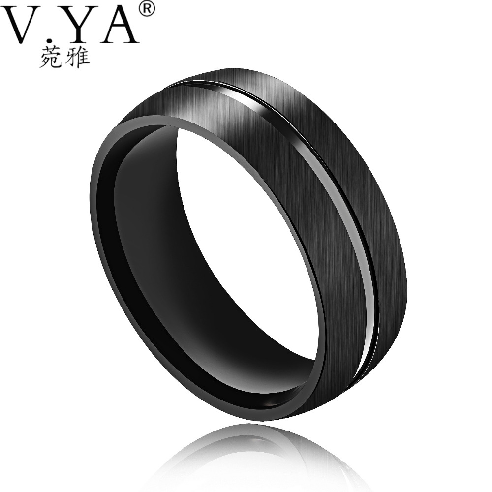com s ring tungsten devuggo men wedding band carbide rings man