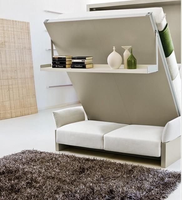 Mini apartamento decoración de muebles abatible apareció en broke ...