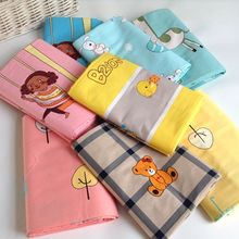 2.35 wide twill  cotton knitted fabric Baby children's bedding cartoon cotton twill printed cloth