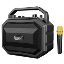 Mifa M520 bluetooth hoparlör kablosuz mikrofon ile mobil kablosuz karaoke hoparlörü TWS kablosuz Stereo ev partisi hoparlör