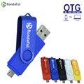 Rondaful Телефон OTG USB Pen Drive Сотовый Телефон Мобильный Телефон USB Flash Drive Флешки 4 ГБ/8 ГБ/16/32/64 ГБ USB Flash Внешние Накопители