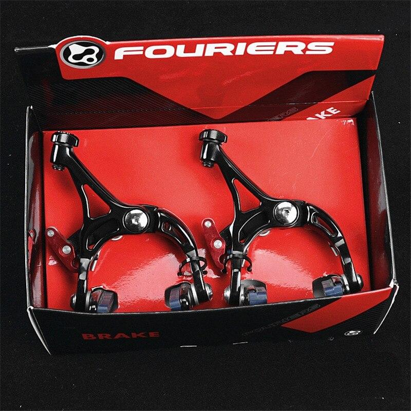 230 g/ensemble FOURIERS BR-S003 vélo de route vélo extrême léger forgé étrier chaussures de frein