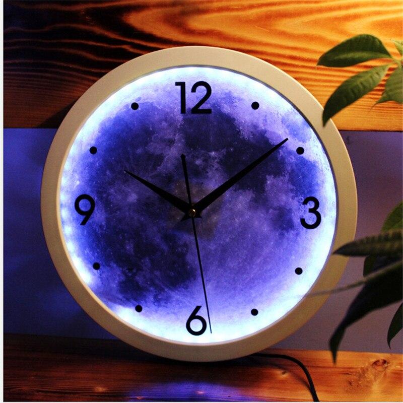 lumineux horloge murale promotion achetez des lumineux horloge murale promotionnels sur. Black Bedroom Furniture Sets. Home Design Ideas