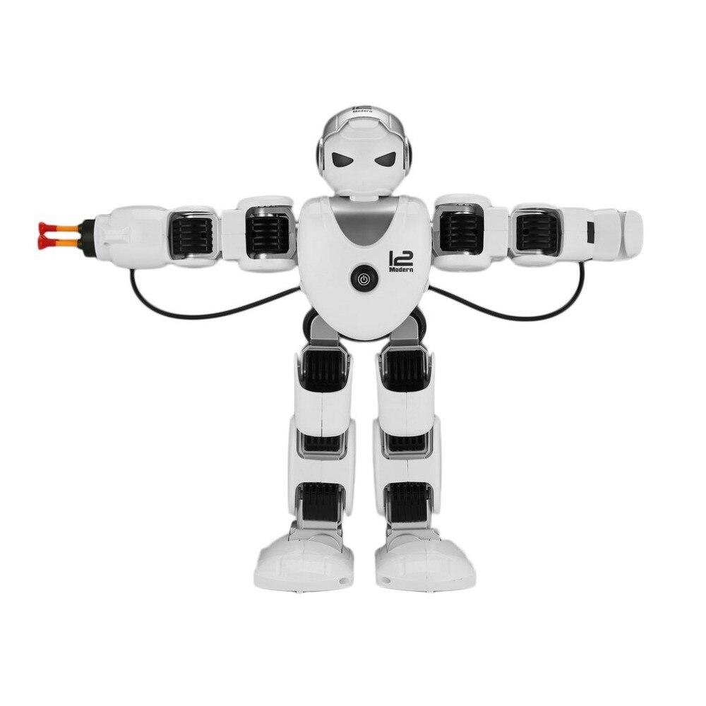 все цены на K1 Intelligent Alpha rc Robot Smart Programming Humanoid Remote Control Robot Toy Demo Singing Dancing Kids Educational Toy Gift онлайн