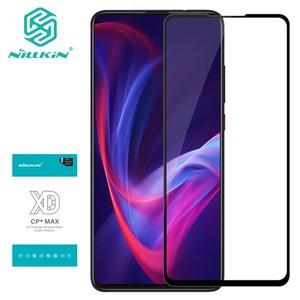 Image 1 - Nillkin Tempered Glass For Xiaomi Redmi K20 Mi 9T 9T Pro XD CP+MAX Full screen coverage Screen Protector for Redmi K20 Pro Glass
